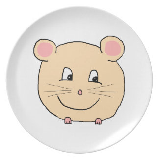 Mouse Cartoon. Plate