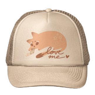 Mouse & Cat LoveMe hat