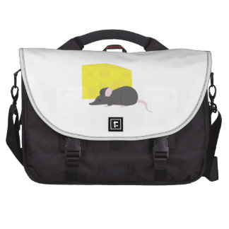 Mouse & Cheese Laptop Computer Bag