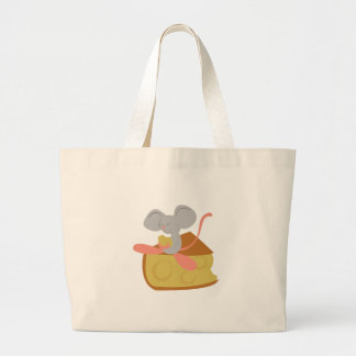 Mouse & Cheese Canvas Bags