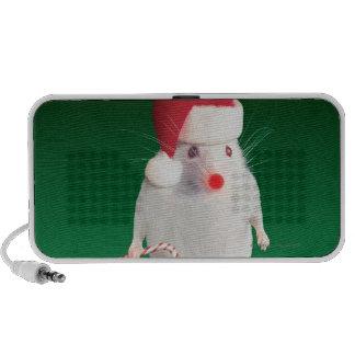 Mouse dressed as Santa Claus Speaker