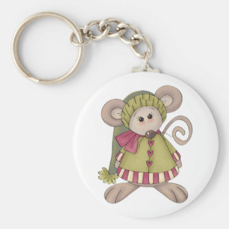 Mouse Dressed Up Keychain