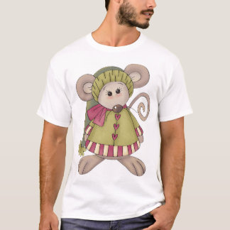 Mouse Dressed Up Mens T-Shirt