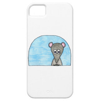Mouse Driving a Car. iPhone 5 Cover