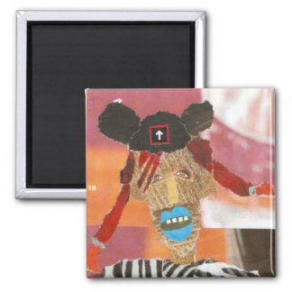 Mouse Ears 2 Square Magnet