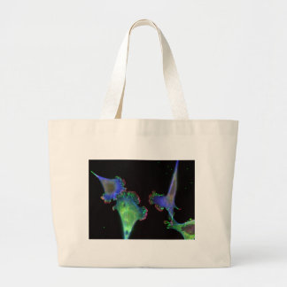 Mouse embryonic fibroblasts large tote bag