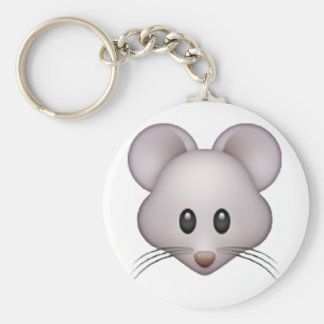 Mouse - Emoji Key Ring