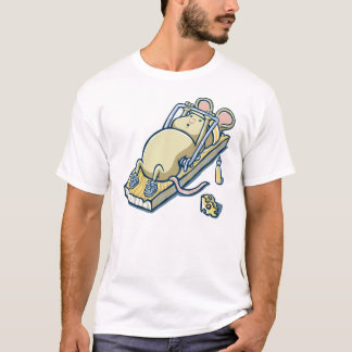 mouse exercising funny t shirt designs