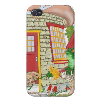 Mouse House Covers For iPhone 4