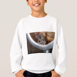 Mouse in a teapot sweatshirt