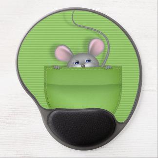 Mouse in Pocket Gel Mouse Mat