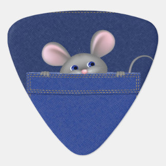 Mouse in Pocket Plectrum