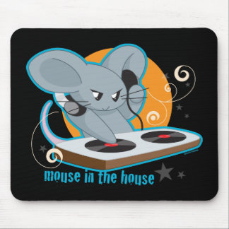 Mouse in the House Mouse Pad