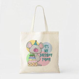 Mouse Kids Birthday Gift Tote Bag