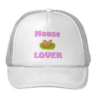 Mouse Lover Mesh Hat
