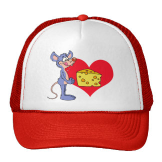Mouse Loves Cheese Trucker Hat