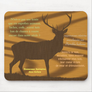 mouse mat anti stag drives out