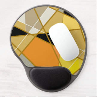 Mouse mat freezing Geometrical abstract Gel Mouse Pad