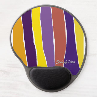 Mouse mat freezing Sound off Colors Gel Mouse Pad