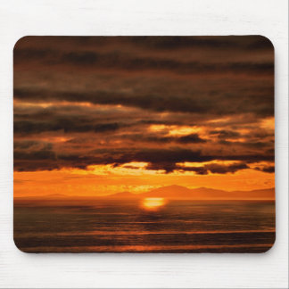 MOUSE MAT ISLE OFF SKYE SUNSET