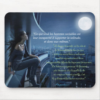 mouse mat loneliness, Schopenhauer quotation