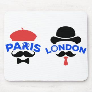 Mouse mat Paris-London by Ciel My Moustache