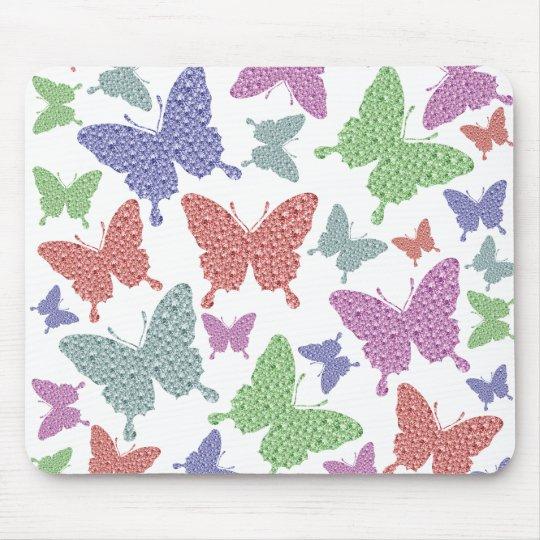 Mouse Mat - Seasonal Butterflies Collection