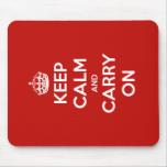 Buy a Keep Calm mousemat
