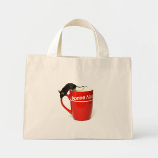 mouse mini tote bag