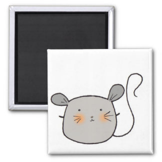 mouse mouse square magnet