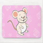 mouse mousepad pink