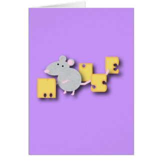 Mouse Note Card
