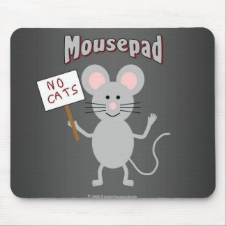 Mouse on a mousepad