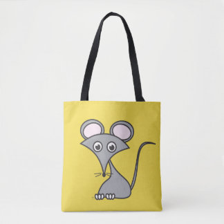 Mouse on Cheese Tote Bag