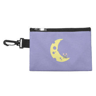 mouse on the cheese moon accessories bag