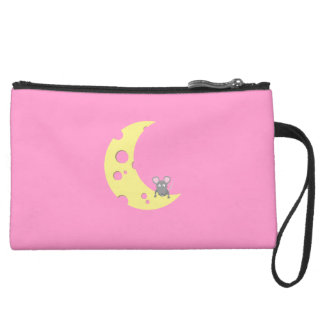 mouse on the cheese moon wristlets