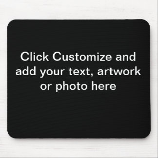 Mouse Pad Black Background