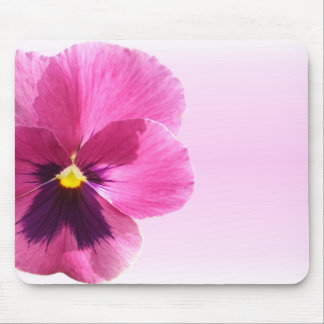 Mouse Pad - Dark Pink Pansy