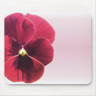 Mouse Pad - Dark Red Pansy