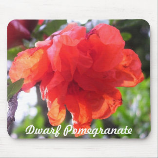 Mouse Pad - Dwarf Pomegranate