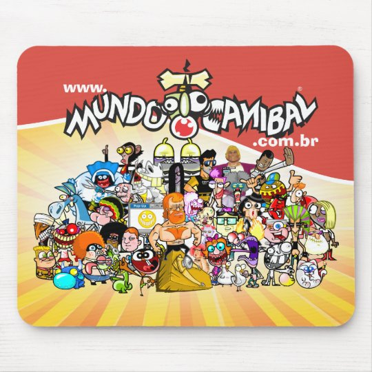 Mouse Pad Group World Cannibal