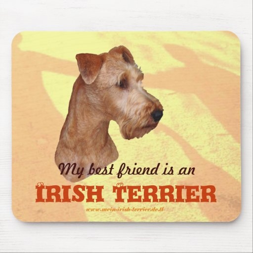 "Mouse PAD ""Irish Terrier """