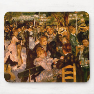 Mouse Pad - It dances in the Moulin of the Galette
