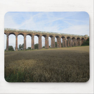 Mouse Pad/Mouse Mat: Ouse Valley Viaduct + Train Mouse Mat