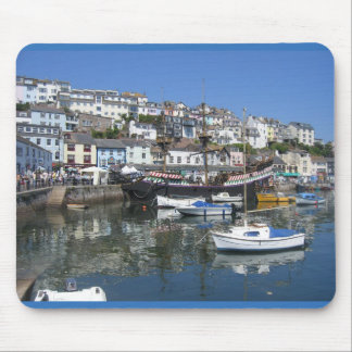 Mouse Pad / Mouse Mat With Brixham Harbour Picture