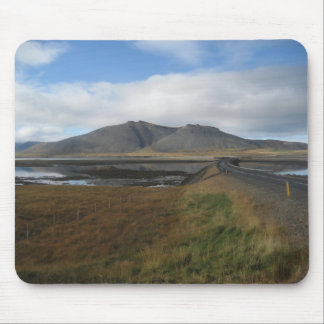 Mouse Pad / Mouse Mat With Distant Hills (Iceland)