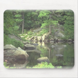 Mouse Pad~~New York mountain lake and rocks Mouse Mat