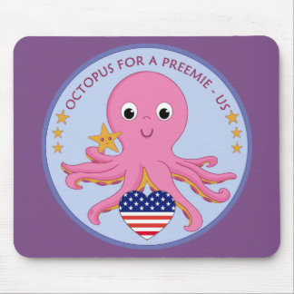 Mouse Pad Octopus For A Preemie US