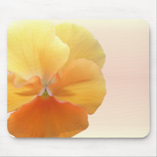 Mouse Pad - Orange Pansy