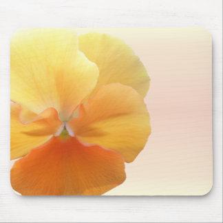 Mouse Pad - Orange Pansy